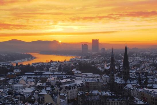 Morgendämmerung in Bonn (photo: https://www.flickr.com/photos/curnen)